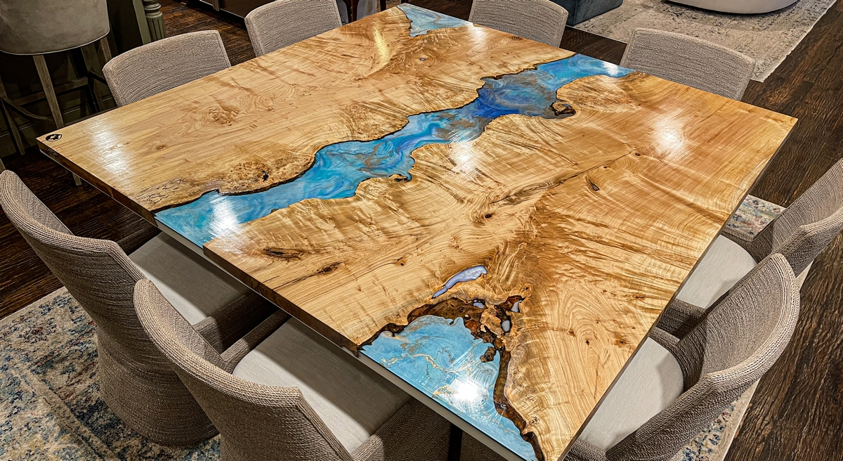 The Wright Edge river table